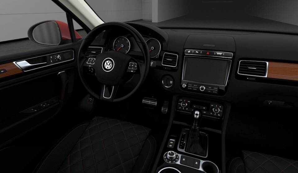 Volkswagen Touareg Executive Edition giá cao ngất ngưởng - 4
