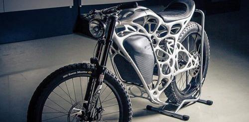 Airbus ra mắt xe máy điện từ công nghệ in 3D - 2