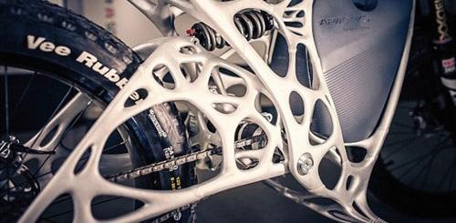 Airbus ra mắt xe máy điện từ công nghệ in 3D - 3