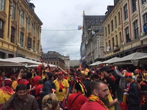 """Chi tiết Xứ Wales - Bỉ: Dấu chấm hết cho """"Quỷ đỏ"""" (KT) - 20"""
