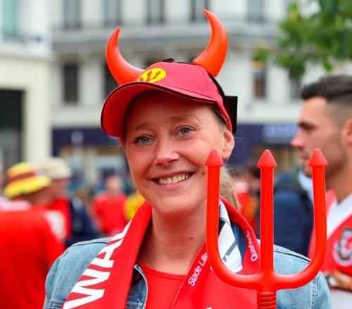 """Chi tiết Xứ Wales - Bỉ: Dấu chấm hết cho """"Quỷ đỏ"""" (KT) - 15"""