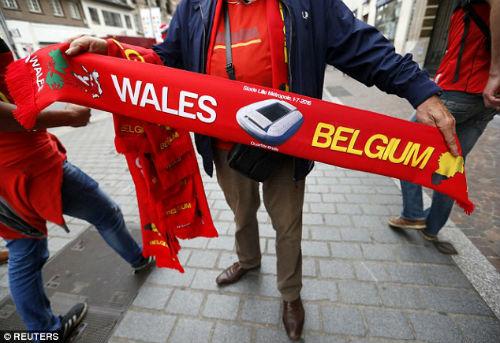 """Chi tiết Xứ Wales - Bỉ: Dấu chấm hết cho """"Quỷ đỏ"""" (KT) - 13"""