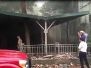 Tin tức trong ngày - Đại học Sư phạm Hà Nội cháy lớn, thí sinh hoảng loạn
