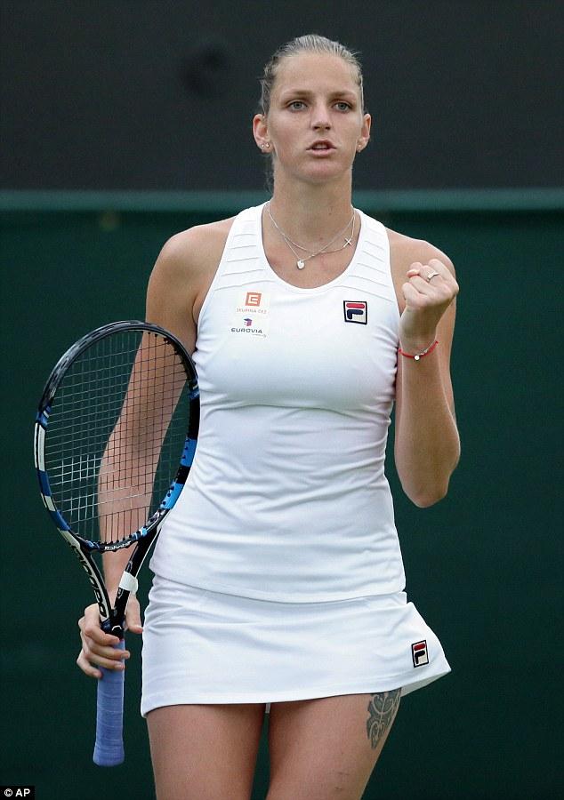 """Soi hình xăm cá tính của các """"bóng hồng"""" ở Wimbledon - 1"""