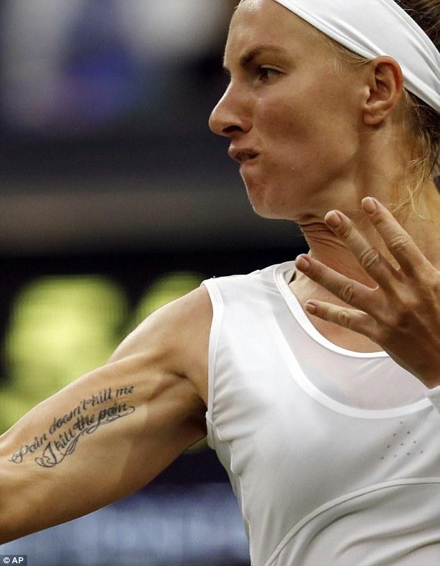 """Soi hình xăm cá tính của các """"bóng hồng"""" ở Wimbledon - 2"""