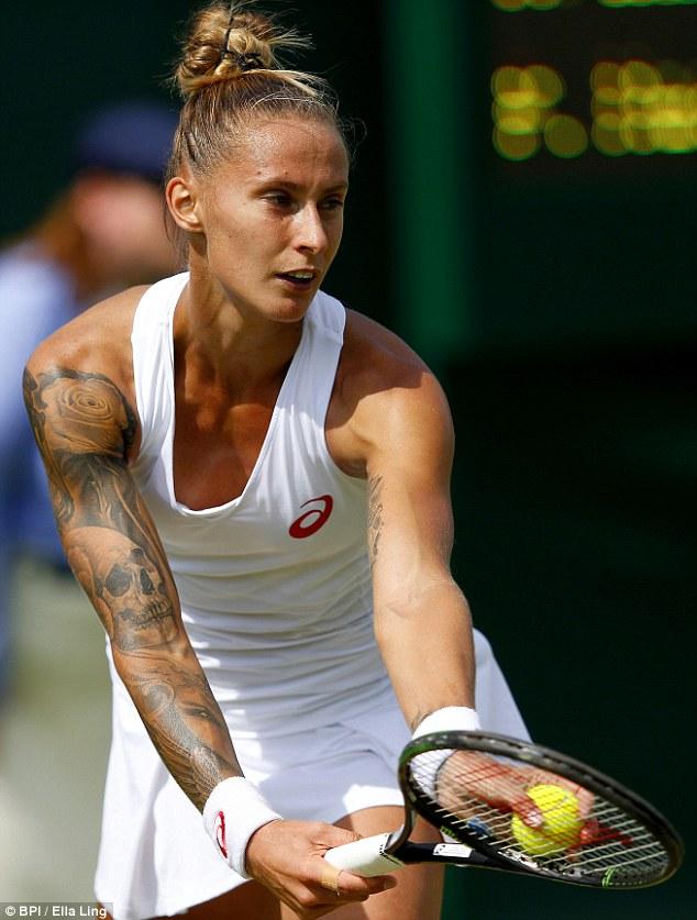 """Soi hình xăm cá tính của các """"bóng hồng"""" ở Wimbledon - 5"""