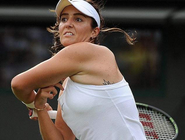 """Soi hình xăm cá tính của các """"bóng hồng"""" ở Wimbledon - 10"""
