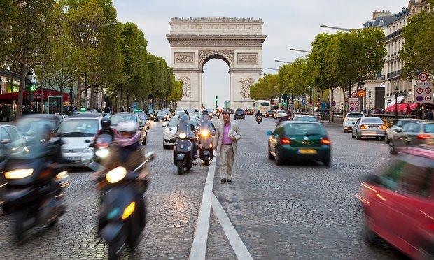 Paris cấm ô tô hơn 20 năm tuổi lưu hành trong thành phố - 2