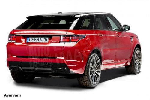 """Range Rover coupe 2018: """"Phát súng"""" tấn công BMW X6 - 2"""