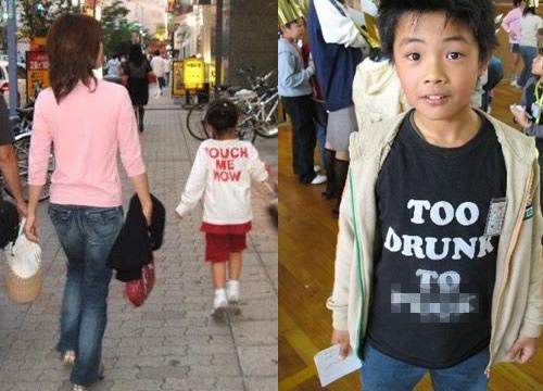 Hàng loạt áo phông Trung Quốc in chữ thô tục, nhạy cảm - 5