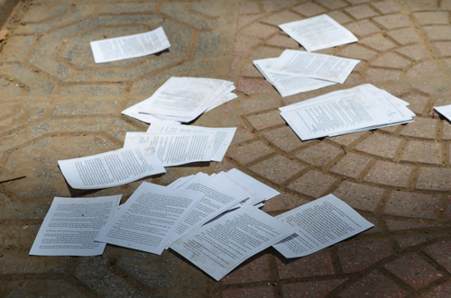 Thi môn Văn, gần 90 thí sinh bị đình chỉ do mang tài liệu - 1