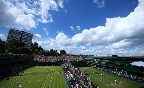 Wimbledon ngày 6: Cilic, Halep thẳng tiến - 6