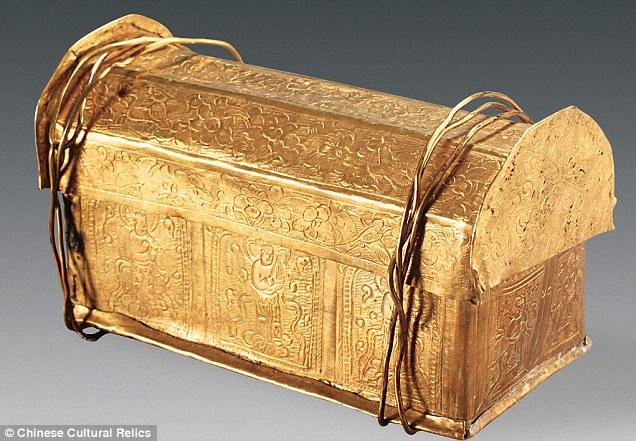 Hài cốt Phật Thích-ca Mâu-ni trong rương ngàn năm ở TQ? - 1