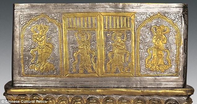 Hài cốt Phật Thích-ca Mâu-ni trong rương ngàn năm ở TQ? - 3