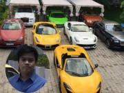 Đời sống Showbiz - Tình cũ của Midu khoe bộ sưu tập 8 siêu xe đắt tiền