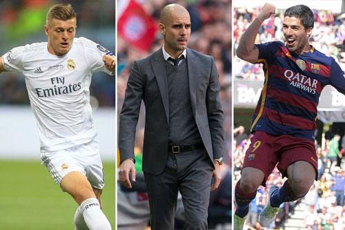 Đấu Mourinho, Guardiola quyết mua Suarez, Kroos - 1