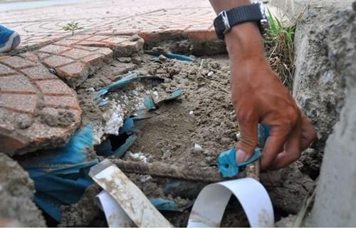 Bê tông cốt xốp ở cầu vượt đường sắt Hà Nội - 4