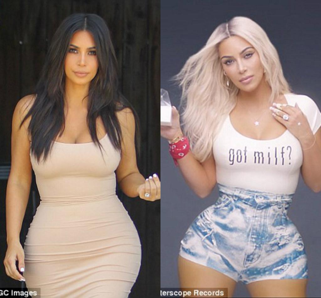 Kim Kardashian bị bóc mẽ chỉnh sửa ảnh, mặc quần độn - 1