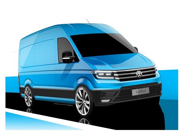 Volkswagen Crafter 2017 sẽ trình làng tại Triển lãm IAA 2016 - 1