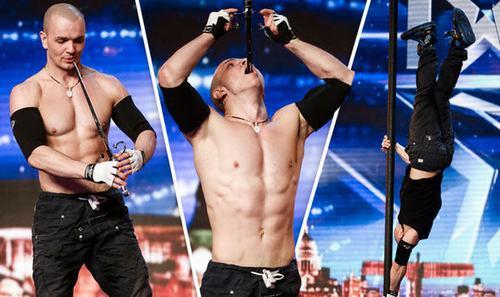 """""""Khó thở"""" với màn trình diễn của hotboy tại Got Talent Anh - 1"""