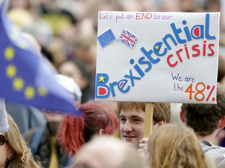 50.000 người rầm rộ biểu tình kêu gọi Anh ở lại EU - 2