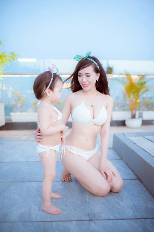 Huyền Baby, Elly Trần xinh đẹp hơn sau khi làm mẹ - 8