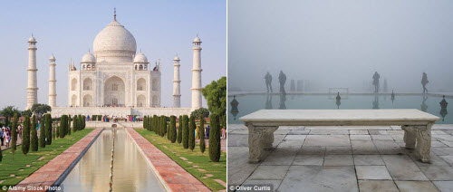 Vẻ nhếch nhác bên những điểm du lịch nổi tiếng thế giới - 1