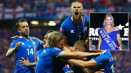 Tin nhanh Euro 3/7: Hoa hậu Iceland mơ loại Pháp - 1