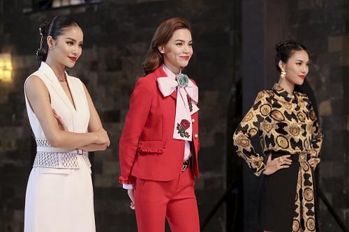 Thời trang lên sóng của bộ 3 giám khảo The Face - 1