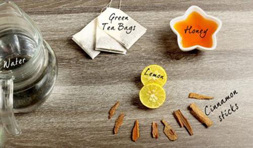 Cách chế nước trà xanh với chanh giúp giảm cân  nhanh - 2