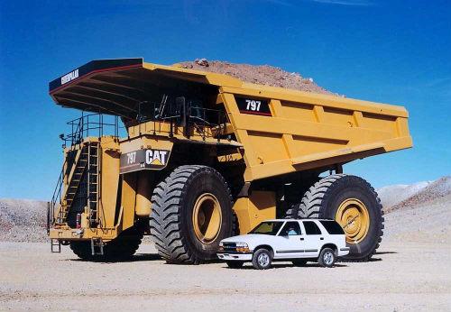 """Top 10 xe tải """"khủng"""" nhất hành tinh - 2"""