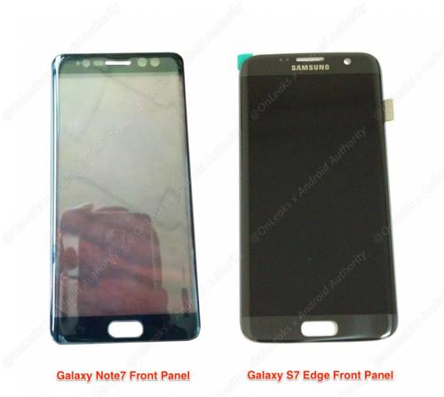 Rò rỉ ảnh mặt trước cặp Samsung Galaxy Note 7 - 2