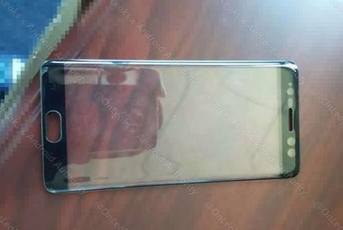 Rò rỉ ảnh mặt trước cặp Samsung Galaxy Note 7 - 1