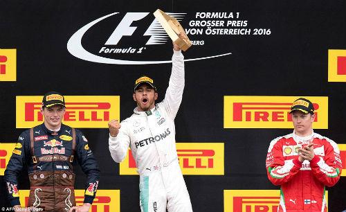 F1, Austrian GP: Nghẹt thở vòng đua cuối - 1