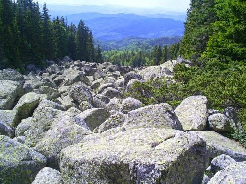 Khám phá dòng sông đá kỳ lạ ở Nga - 6
