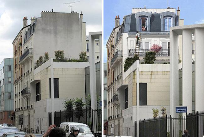Họa sĩ Pháp biến khu phố buồn tẻ thành cực kỳ sinh động - 4
