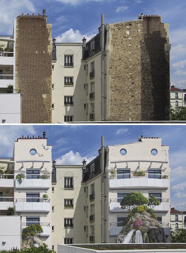 Họa sĩ Pháp biến khu phố buồn tẻ thành cực kỳ sinh động - 15