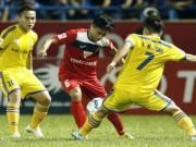 """Bóng đá - Sôi động V-League 3/7: SLNA """"nhấn chìm"""" Than Quảng Ninh"""