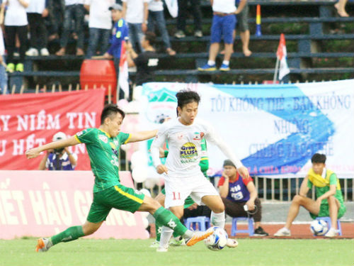 Những kết quả khó hiểu ở vòng 14 V-League - 1