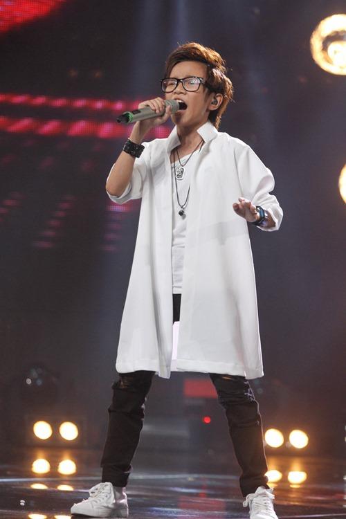 """VN Idol Kids: """"Soái ca nhí"""" bị Văn Mai Hương cảnh cáo - 6"""