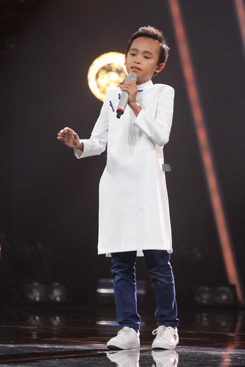 """VN Idol Kids: """"Soái ca nhí"""" bị Văn Mai Hương cảnh cáo - 8"""