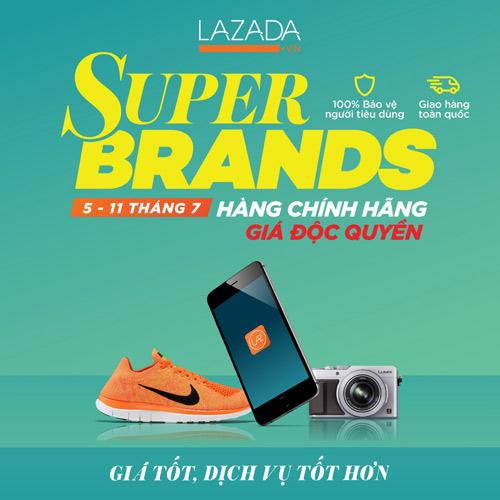 Săn hàng hiệu tháng 7: đừng bỏ lỡ đại hội thương hiệu lớn tại Lazada - 1