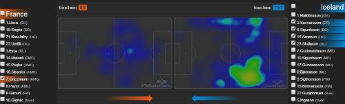 """Chiến thuật: Pháp chơi phủ đầu, Iceland rơi """"mặt nạ"""" - 3"""