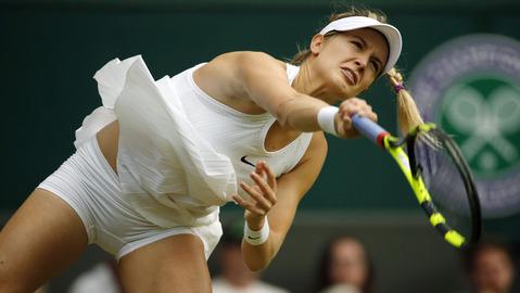 Kiểu nữ quần vợt ca ngợi mẫu váy hớ hênh ở Wimbledon - 6