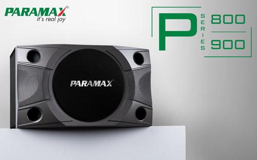 Bộ đôi loa mới PARAMAX P-800 và P-900: Thỏa niềm đam mê ca hát - 2