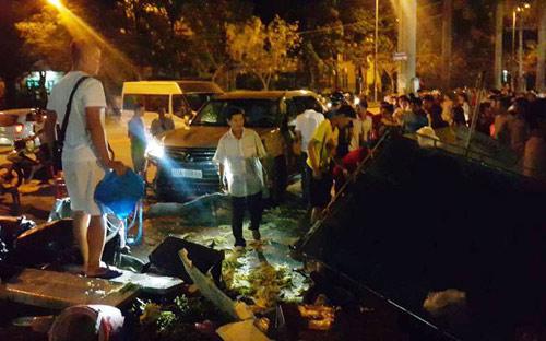 Lộ chủ sở hữu xe Lexus biển 80A gây tai nạn ở Thanh Hóa - 1