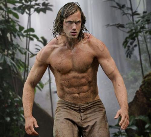 "Alexander Skarsgard ăn ức gà suốt 9 tháng để làm ""Tarzan"" - 1"