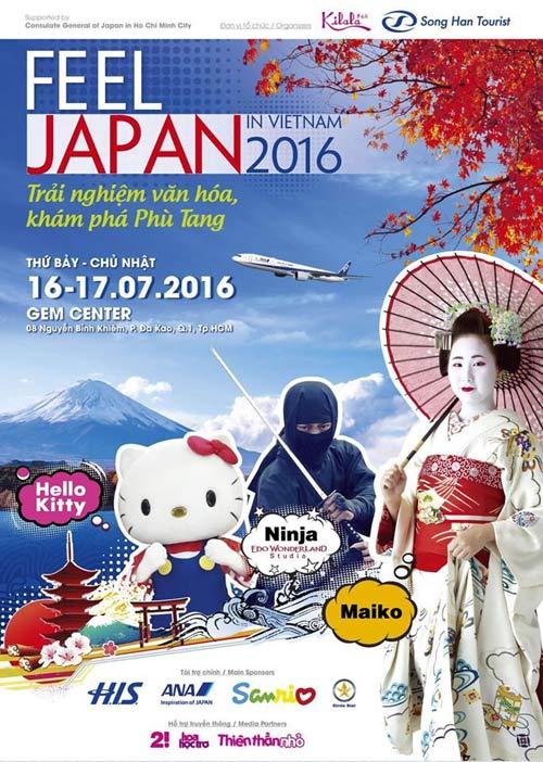 Cảm nhận và khám phá Nhật Bản tại lễ hội Feel Japan In Viet Nam 2016 - 1