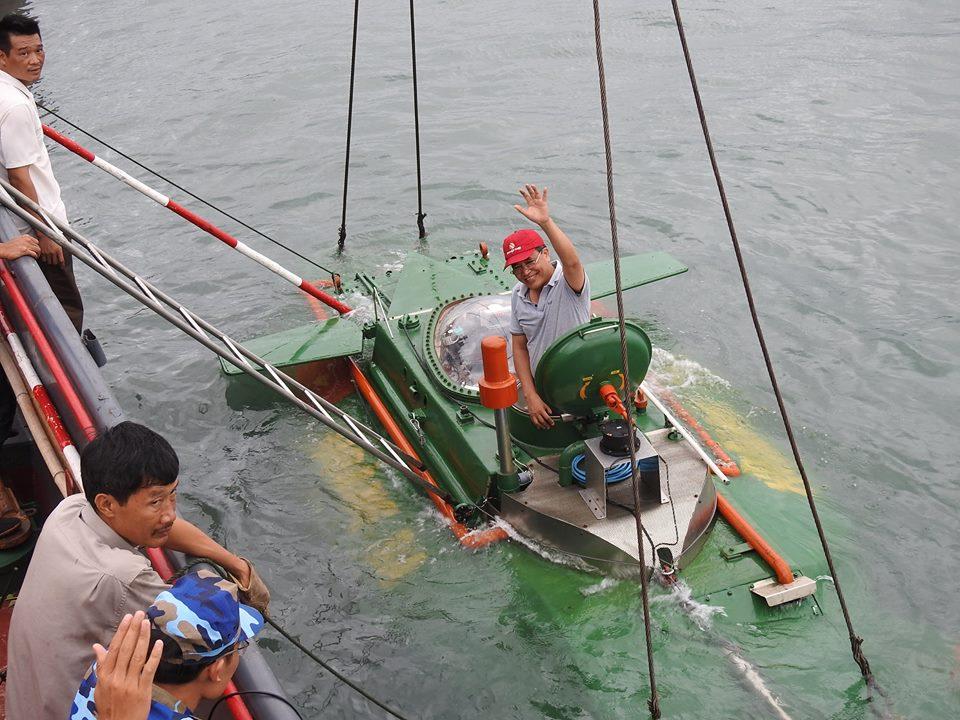Kỹ sư quê lúa tiếp tục chế tạo tàu ngầm Trường Sa 2 - 3