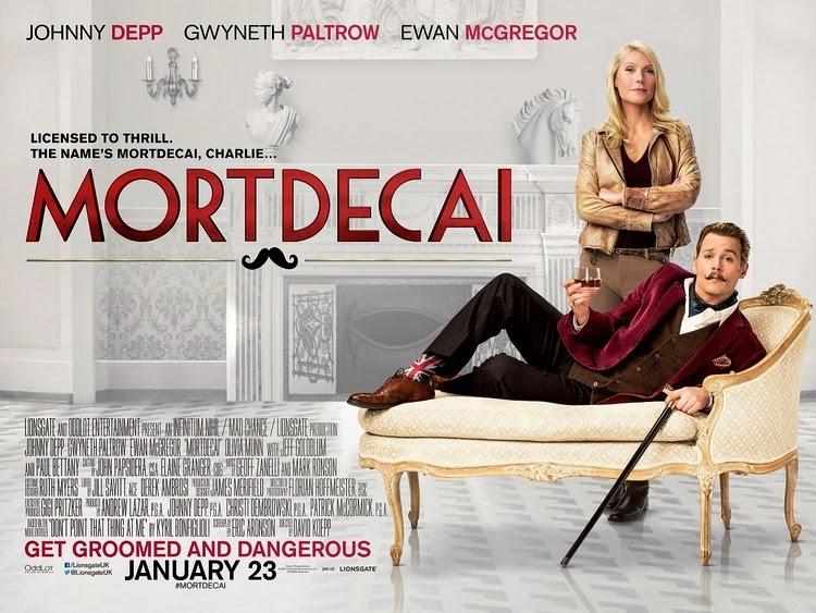 Trailer phim: Mortdecai - 1